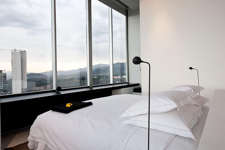 Hotel Distrito Capital, corner suite - Mexico city