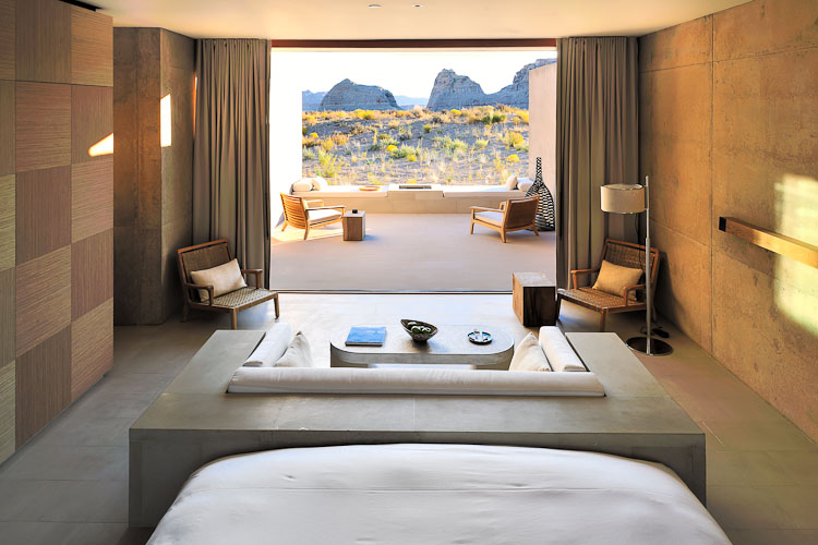 Amangiri luxury resort is an enclave of luxury and style for Design hotel utah