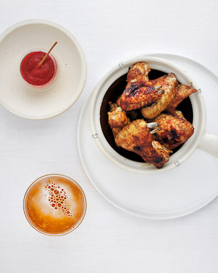 Peppery Chicken Wings - recipe by Grace Parisi