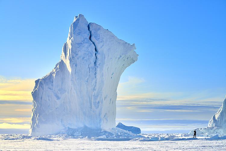 Arctic Canada Nunavut Iceberg