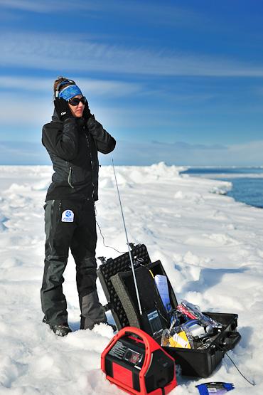 Hydrophone at Nunavut Arctic Kingdom