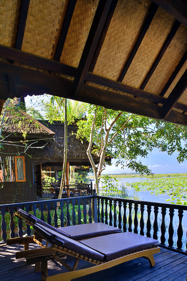 lake view suite Inle Lake Princess Resort
