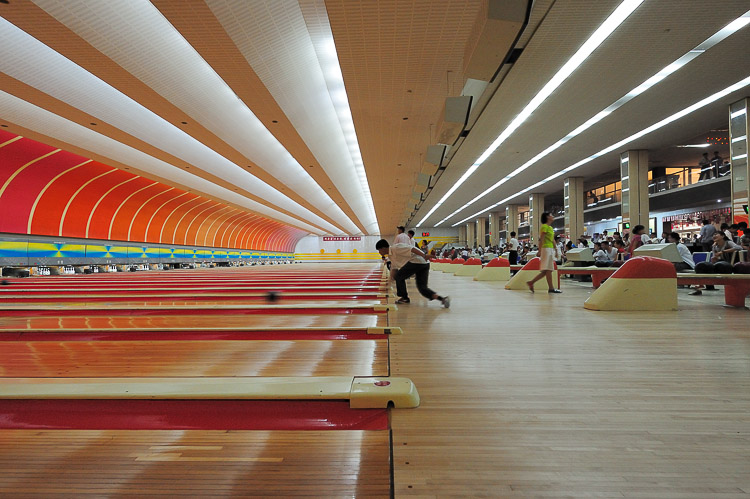 a night of bowling in pyongyang