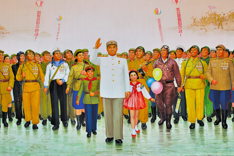 propaganda North Korea