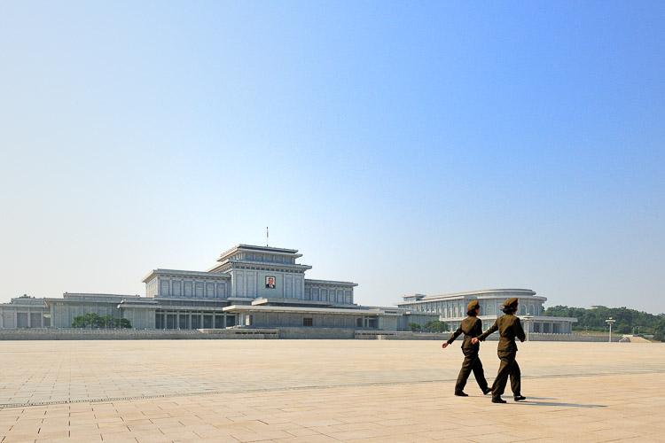 Kim Il Sung's Mausoleum