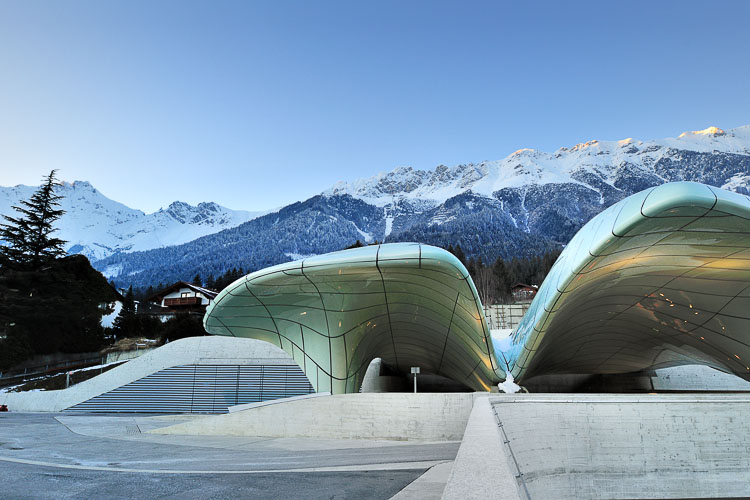 Zaha Hadid - Nordkette - Innsbruck, Austria