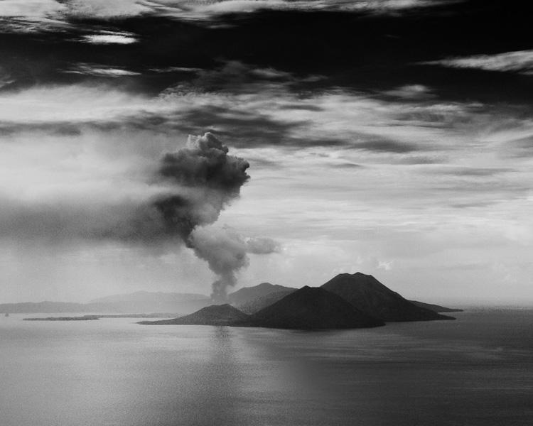 raboul active vulcano Papua New Guinea