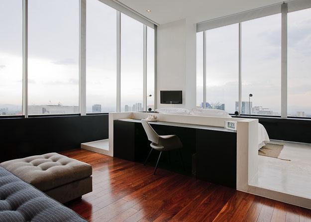 hotel distrito capital, corner suite, Mexico City