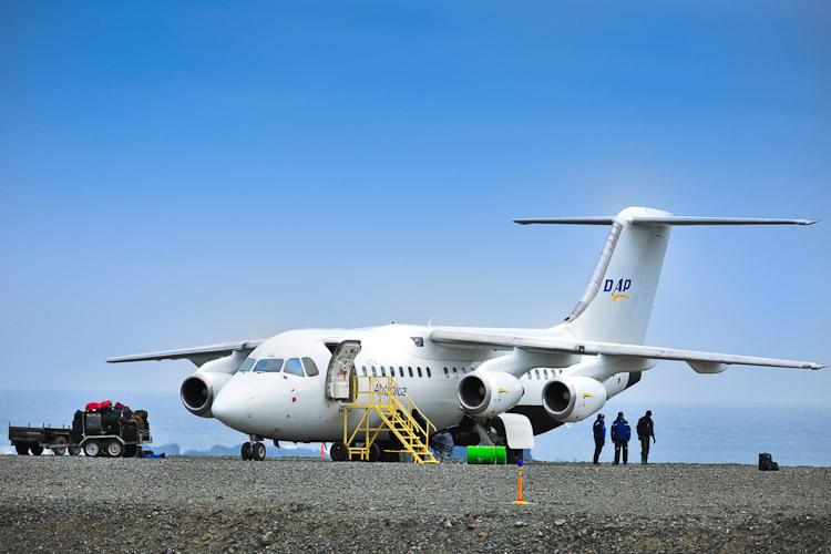 voar para a Antártica DAP