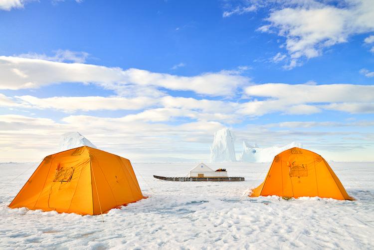Arctic Kingdom Base Camp Nunavut Arctic Canada