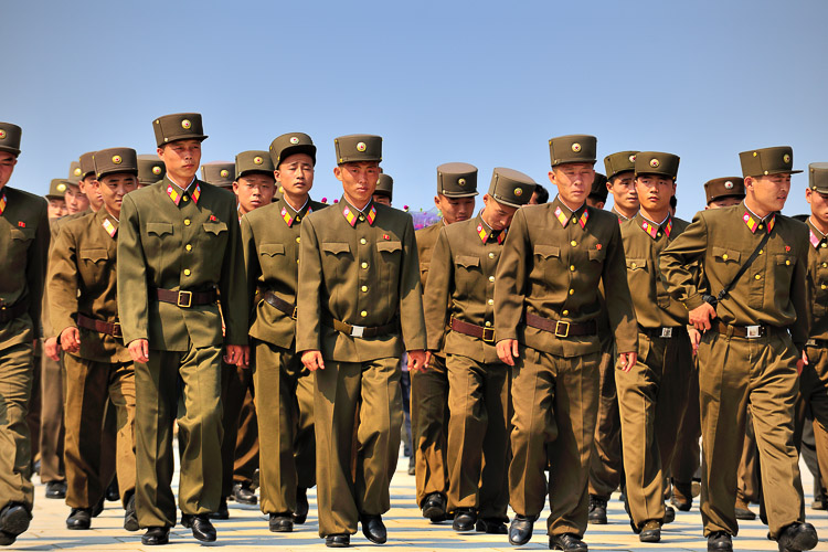 Soldiers North Korea
