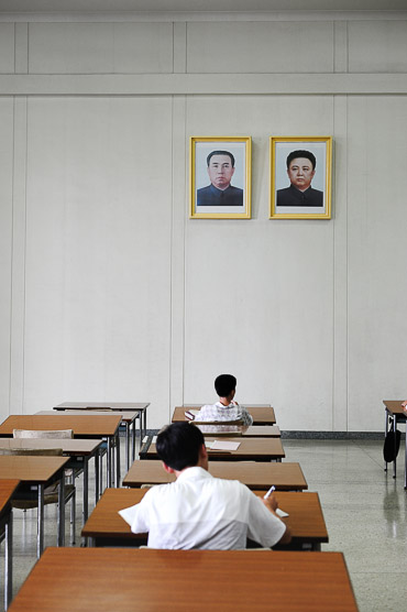 studying in Pyongyang